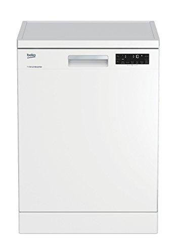 Beko DFN28420W Geschirrspüler Freistehend / A++ / 266 kWh/Jahr / 2660 l/Jahr / Weiß