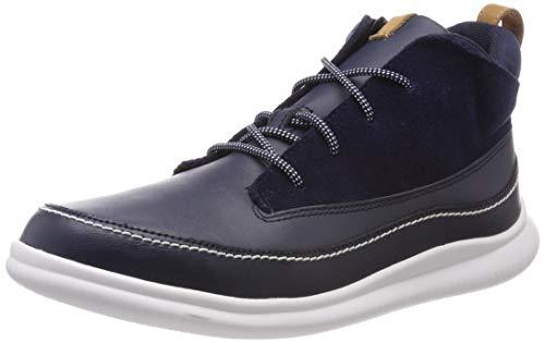 f5d2551c Clarks Cloud Air K, Zapatos de Cordones Derby para Niños, Azul (Navy Leather