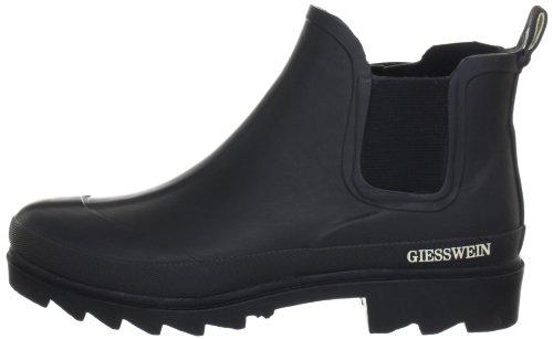 Giesswein Zeching H:14cm, Damen Kurzschaft Gummistiefel, Schwarz (022/schwarz), 40 EU -