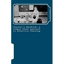 [Teacher's Handbook: A Common Sense Approach to Effective Teaching] (By: V P Sarin) [published: August, 2011]