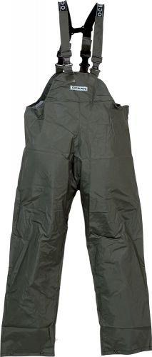 Ocean® Regenlatzhose Off-shore Budget 18-13, PVC 460g, Farbe:oliv; Größe:2XL