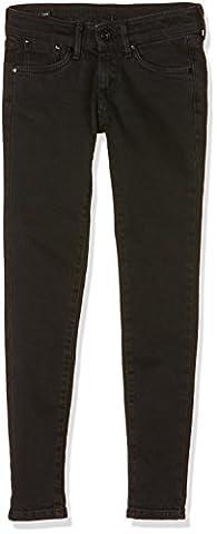 Pepe Jeans - Pixlette - Jeans Fille - Noir(Denim000-J92) - FR : 10ans
