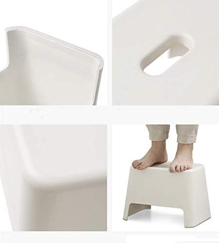 AG Home Stuhl Hocker Klappstuhl-Kunststoff Stapelhocker Satzhocker Kleine Tritthocker Stuhl für Kinder Spa Duschsitz Ideal für Töpfchen Moderne Hocker für Badezimmer Schlafzimmer Spielzeugzimmer Küch