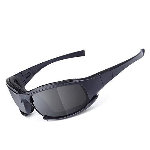 MALLTY Ideal für Radfahren Fahren Wandern Skifahren oder Angeln (Color : Black)