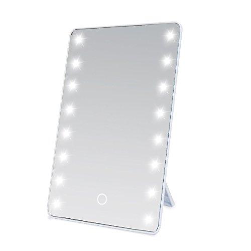 Wawoo Make-up-Spiegel, LED Beleuchtung, Dimmbar durch Touch-Schalter - 8