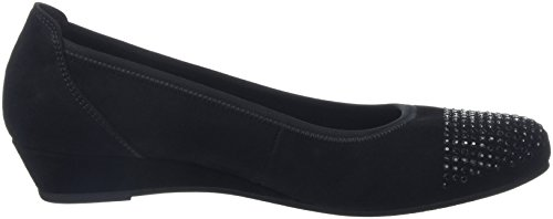 Gabor Comfort Sport, Scarpe con Tacco Donna Nero (schwarz schwarz)