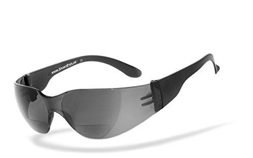 Preisvergleich Produktbild HSE SportEyes Sportbrille Radbrille mit integrierten Leseteil,  SPRINTER 2.3 +1, 00