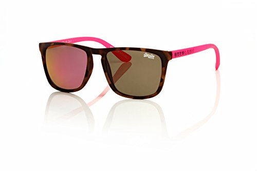 Superdry SDS Shockwave pink, braun / 0 Dioptrien