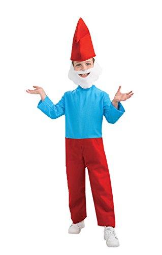 Papa Schlumpf Kinderkostüm L (Papa Schlumpf Kostüm Für Kinder)