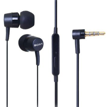 Original Sony MH750 Black Mobile Headset In-Ear-Stereo Wired Jack 3.5 mm Earphones Earbud Headphone For Sony Xperia Z Z Ultra Z1 Z1 Compact Z1s Z2 Z2a Z3 Z3 Compact Z3+ Z3v Z4 Compact Z4 Ultra Z4v ZL ZR Xperia C C3 C4 C5 Ultra E E1 E1 II E3 E4 E4g go ion