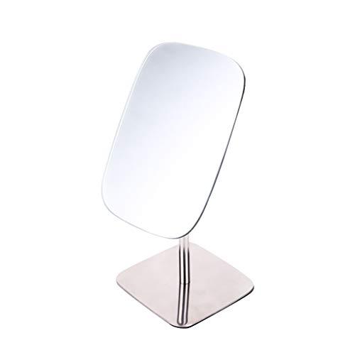 MAEKGX Großer Kosmetikspiegel, Elegantes rahmenloses Design für Schlafzimmer oder Badezimmer, abgeschrägte Kanten,Silver -