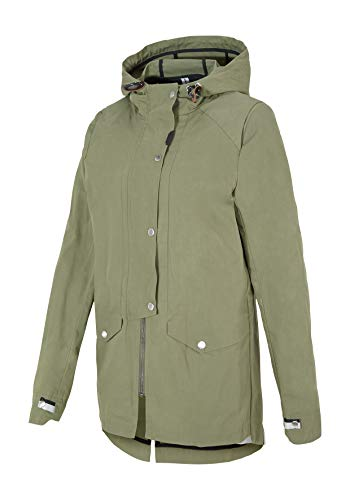 Ziener Damen REGENTRAUT Lady (rainjkt) Outdoor-Jacke, Misty Green, 36