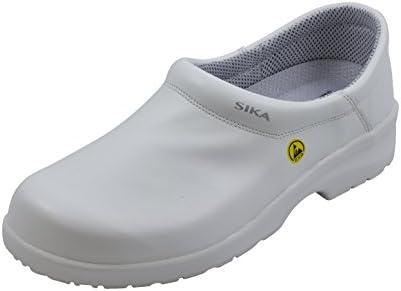 SIKA - Calzado de protección de Piel para hombre Blanco blanco