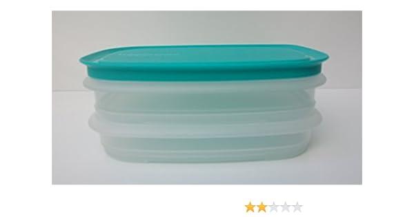 Gitter t/ürkis TUPPERWARE Cool`N Fresh Junior 640 ml Deckel 260 ml