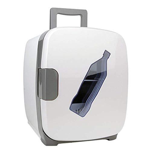 XHLJ Refrigerador De Auto para Bebidas Pequeñas Y Blancas, Refrigerador De Doble Uso para El Hogar De 13L, Mini Refrigerador, Refrigerador De Dormitorio, Refrigerador Al Aire Libre