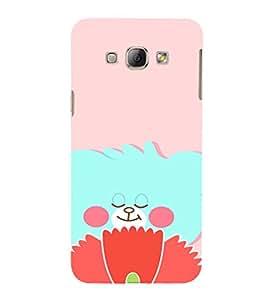 EPICCASE Blue teddy Mobile Back Case Cover For Samsung Galaxy A5 (Designer Case)