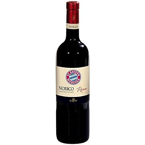 Vino rosso 2014Fc Bayern München + GRATIS adesivi, vino, spumante, vino, bottiglia perla