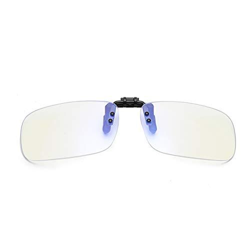 Computerbrille clip-Blauer Lichtfilter Clip-on Computer Lesebrillen, UV-Blocking Anti Eye Strain Unisex Eyewear-blaues licht filter/anti blaulicht/blaues licht filter
