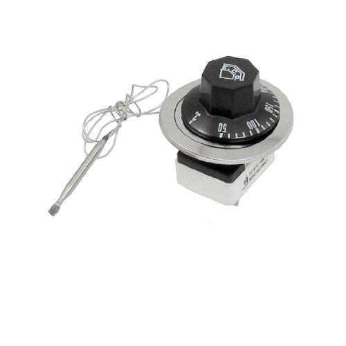 sourcingmap® AC 250V 16A 3 Terminals NO NC Control Kapillar-Thermostat 50-300C