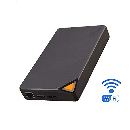 lose Externe Festplatte Festplatte Intelligente Festplatte 1 TB Cloud Storage 2,4 GHz WiFi Remote Access ()
