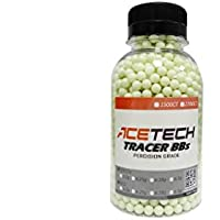 ACETECH Airsoft Gun Glow in Dark Tracer BBS Green … (Green 0.2g 1500CT)