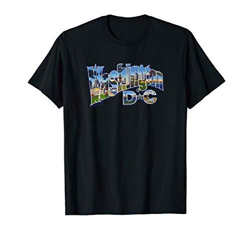 Washington DC USA Capital Retro Vintage T-Shirt