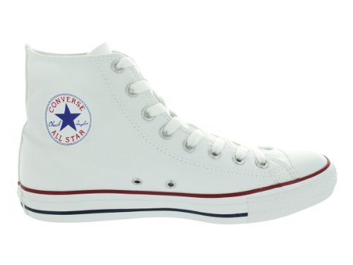 Unisex Chuck Taylor All Star High Top Sneakers (4.5 (MEN) / 6.5 (WOMEN) US, Optical White) (Chuck Taylors High-top)
