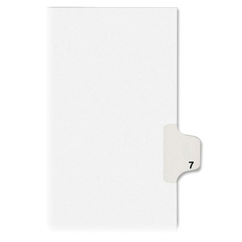 avery-individual-legal-exhibit-dividers-allstate-style-7-side-tab-85-x-11-inches-pack-of-25-82205
