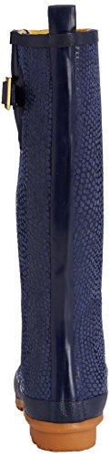 Joules Nessie Welly Snake, Pluie Femme Blau (Blue/White)
