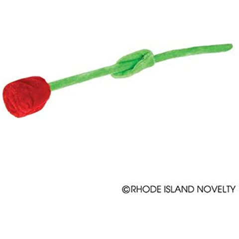 BENDABLE ROSE PLUSH TOY VALENTINES DAY (12 per order) by AP