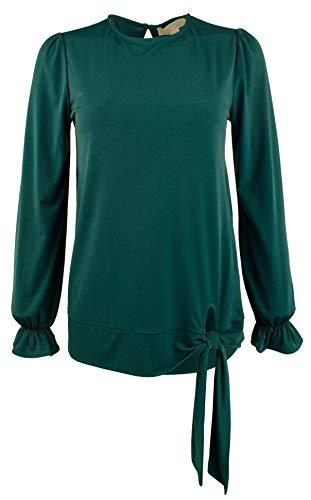 Michael Michael Kors Women's Tie-Front Ruffle-Sleeve Top