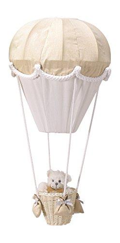 PMP Lampe Montgolfière Ecru/Blanc