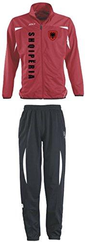 Aprom-Sports Albanien Trainingsanzug - Sportanzug - S-XXL - Fußball Fitness (M)