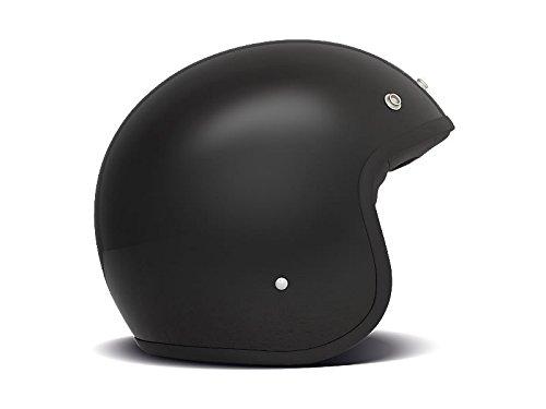 DMD 1jts30000bl04Helm Motorrad, Schwarz Solid, L