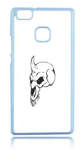 new styles 5b330 b3d57 Smartphone Case testa di morto con un gedrueckter naso Horn su stand  scheletro rocker Frecce Club Gothic Biker Skull Emo Old School per Apple  Iphone 4 4S, ...
