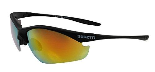 SURETTI Sport Lunettes de soleil, noir, Taille unique, SB de s14054
