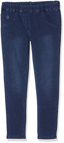 Boboli Mädchen Sporthose Fleece Denim Trousers for Baby Girl, Blau Blue, 92 cm Preisvergleich