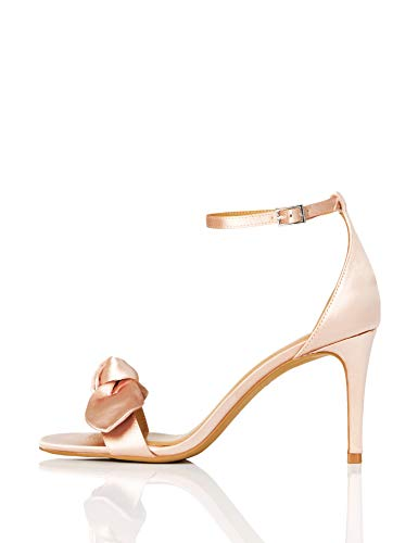 TRUTH & FABLE Zapatos deDama de Honor Mujer, Dorado Gold, 38 EU