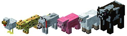 Minecraft - Pack de 6 animales (Giochi Preziosi 16590)
