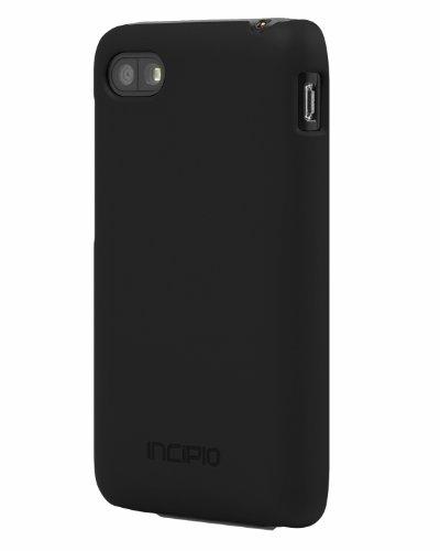 Incipio Feather Schutzhülle für BlackBerry Q5 - schwarz [Ultra dünn | Sehr leicht | Matte Soft-Touch Oberfläche] - BB-1038 Incipio Feather Für Blackberry
