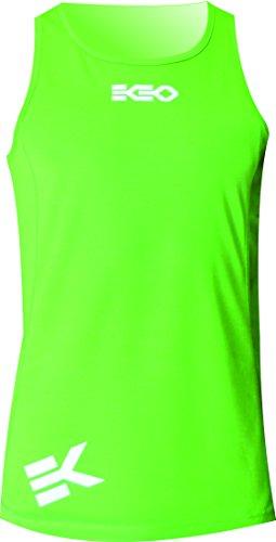EKEKO Running Singlet maglietta XRACE Maglietta senza maniche per uomo. Per la corsa Atletica Leggera Pallavolo e perfetto per la palestra.