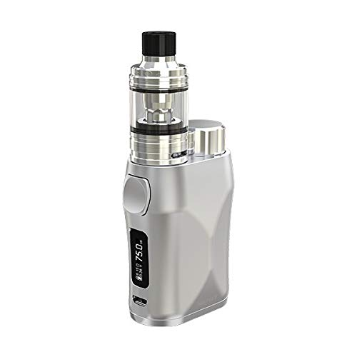 ELEAF iStick Pico X Kit 75W TC VW APV mit Melo 4 2mL E Zigarette Starter Set (Silber)