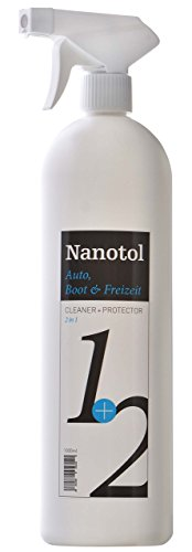 Nanotol Testsieger Regenabweiser Scheibenversiegelung 2in1 Cleaner+Protector - Reinigung & Nanoversiegelung   Autopflege mit Lotuseffekt (1000 ml)