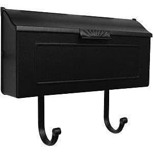 Horizon Horizontal Mailbox SHH-1006-BRZ Horizon Horizontal Mailbox-Bronze by Horizon Horizontal Mailbox