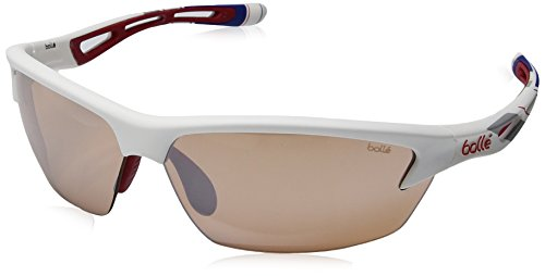 Bolle Bolt Sunglasses, Red/White/Blue Modulator V3 Golf Oleo AF