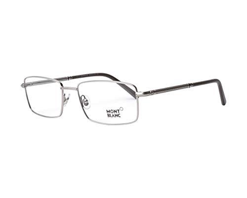 Mont Blanc Brille (MB-575 016) Metall - Acetate Kunststoff silber - braun