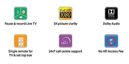 TATASKY Airtel Digital TV HD Set Top Box