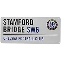 Chelsea Football Club Metal Street Sign, Stamford Bridge - Brand New - Great Gift Idea