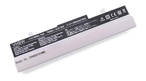 vhbw Akku für Asus Eee PC 1001/1005 / 1101 / R101 / R150 - Serie wie 1005P, 1005HA, R101D, R105D, 1001PXD Notebook Laptop - (Li-Ion, 4400mAh, 10.8V) (Asus Eee Pc Ersatzteile)