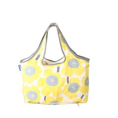 &ZHOU femminile borsa di tela borsa a tracolla grande capacità zaino borsa Messenger di svago del messaggero di moda , black bright yellow